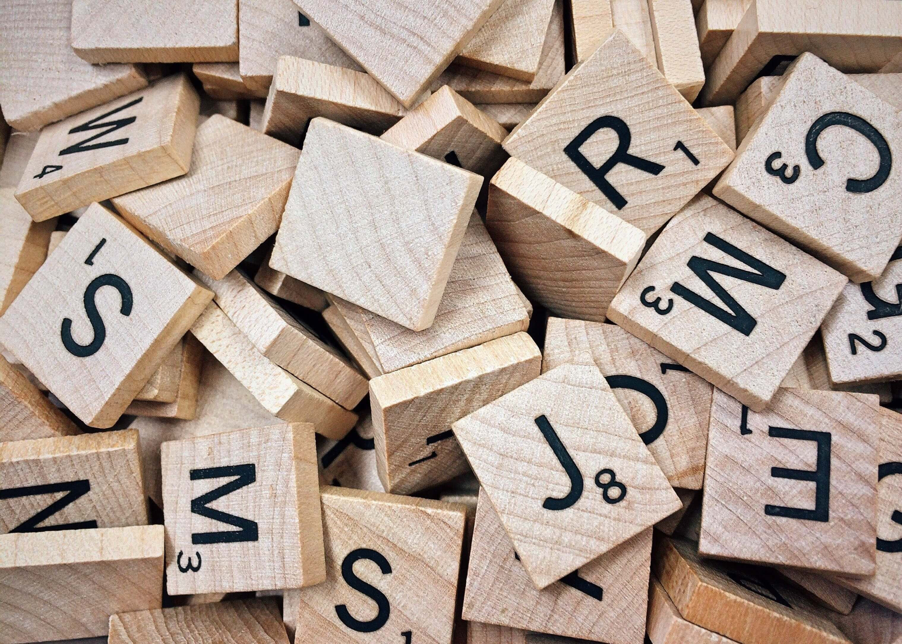 scrabble tiles - Wood Sign Design Ideas