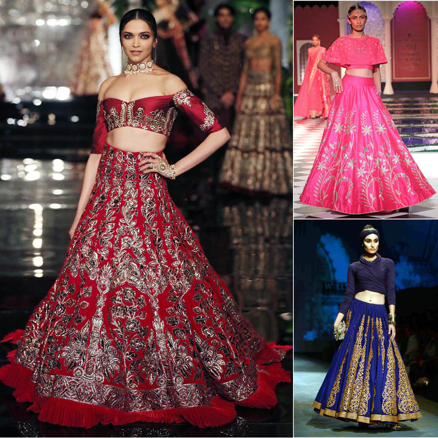 designer bridal lehengas | wedding designer saree