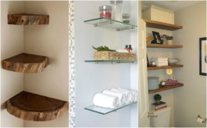 Find Out How To Go For DIY Floating Shelves and Bathroom Update