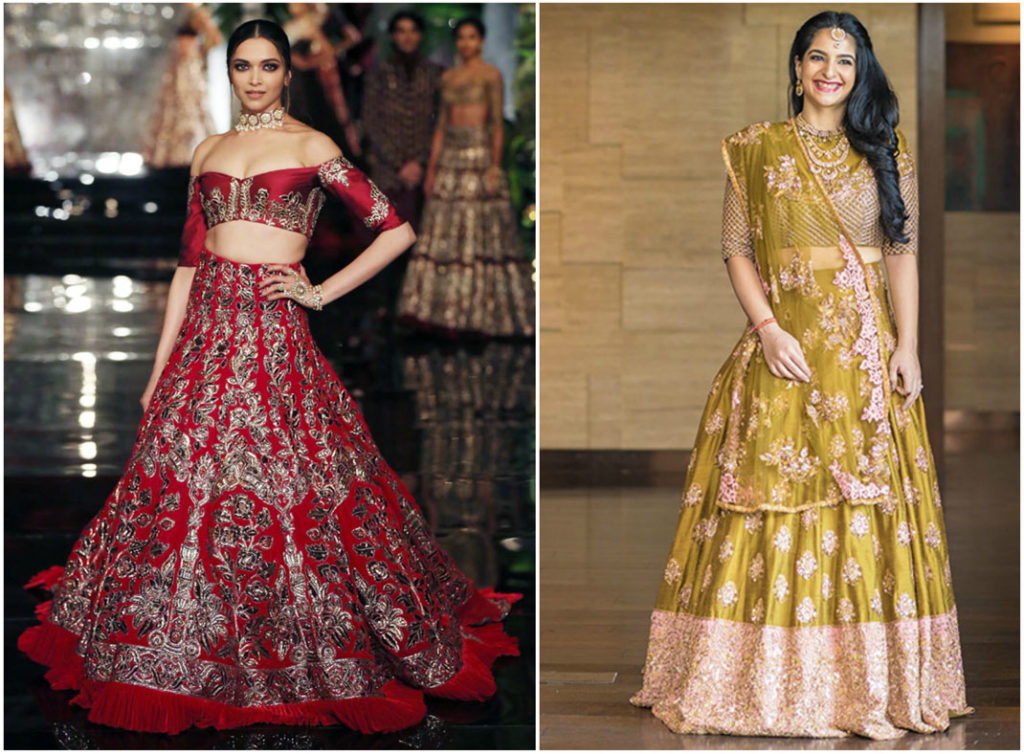 Manish Malhotra collection | designer bridal lehengas