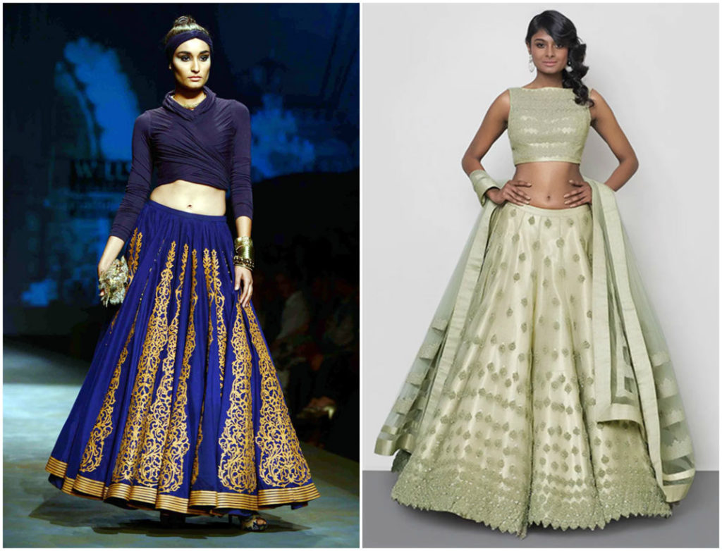 Best Wedding Trousseau | designer bridal lehengas