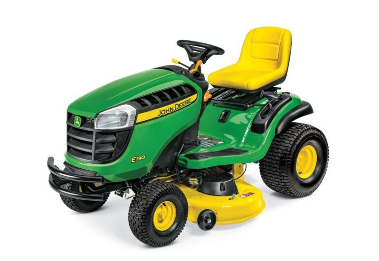 John Deere E130 Lawn Tractor Review