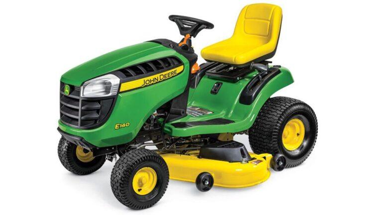 John Deere E140 Lawn Tractor Review