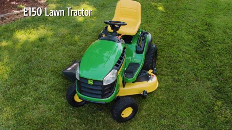 John Deere E150 Riding Lawn Tractor Review