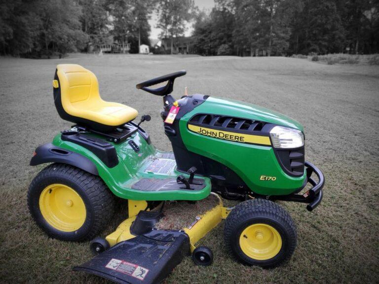 John Deere E170 Lawn Mower Review
