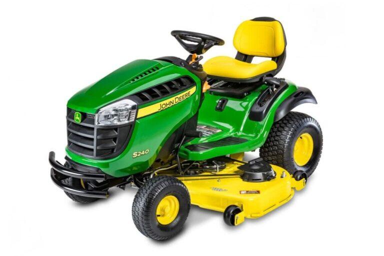 John Deere S240 Lawn Tractor Review