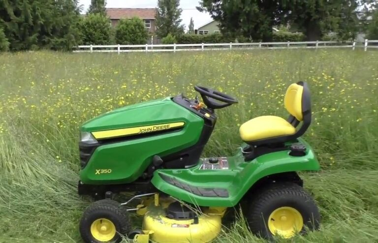 John Deere X350-48 In. Lawn Tractor Review