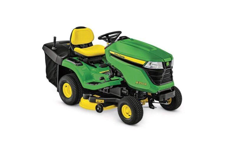 John Deere X350R Lawn Tractor Review