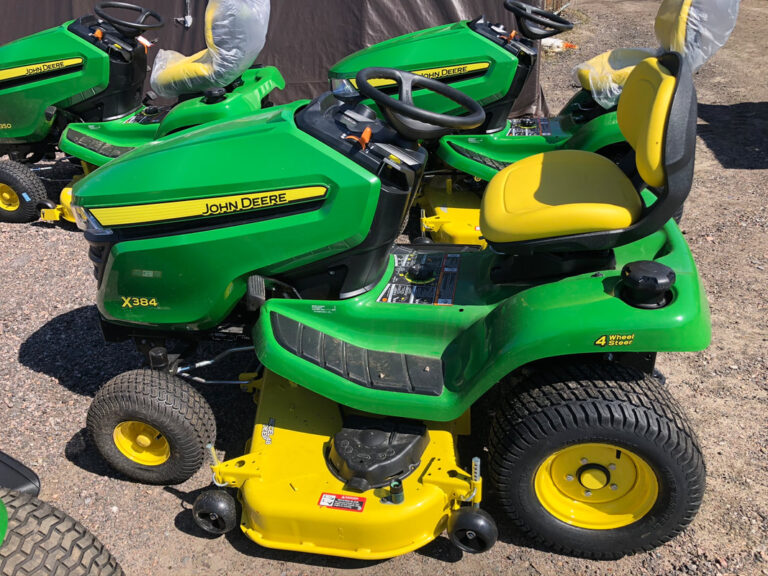 John Deere X384 Riding Lawn Tractor Review