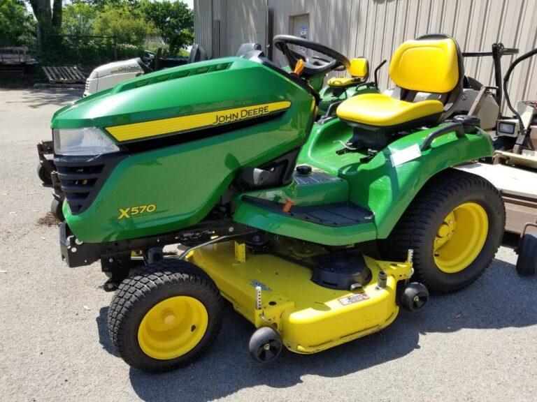 John Deere X570 Lawn Tractor Review