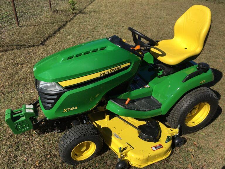 John Deere X584 Lawn Tractor Review
