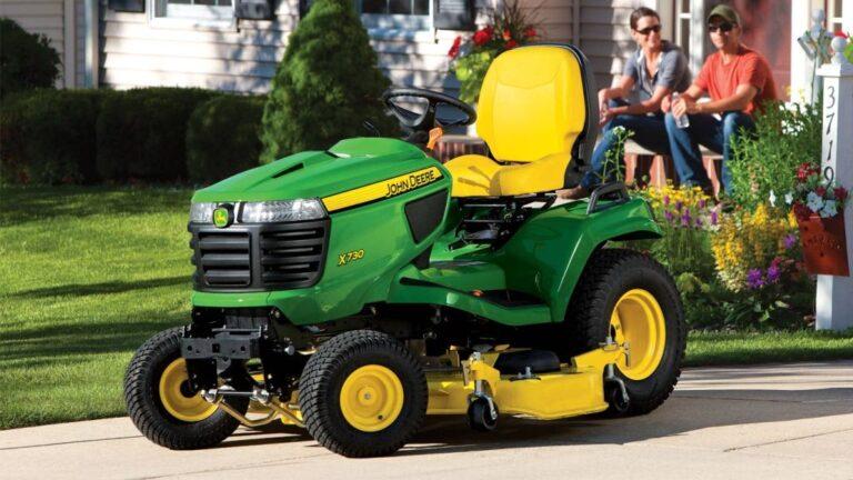 John Deere X730 Lawn Tractor Review