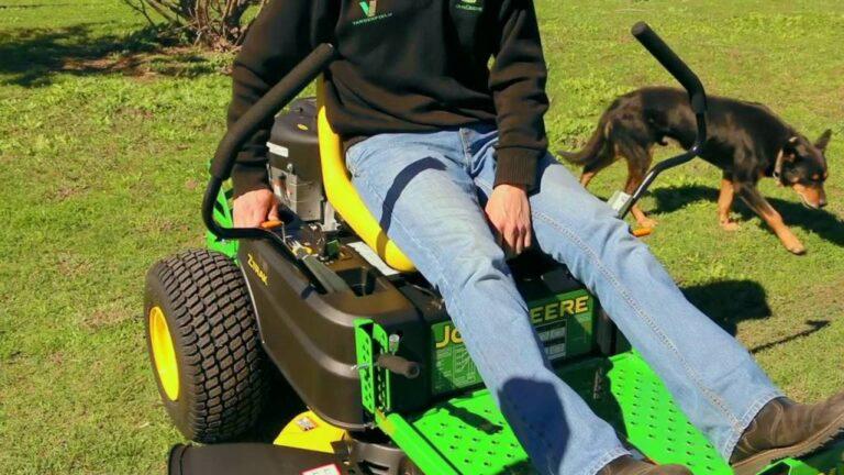 John Deere Z335E Zero Turn Lawn Mower Review
