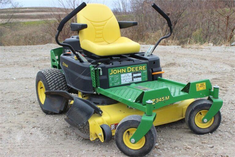 John Deere Z345M Zero-Turn Lawn Mower Review