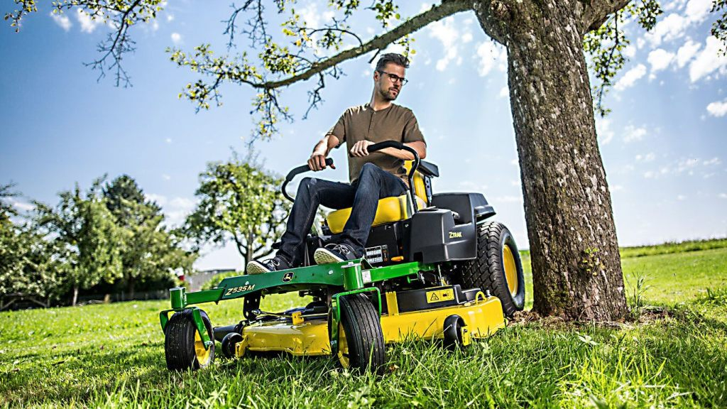 John Deere Z535M Zero-Turn Lawn Mower Review