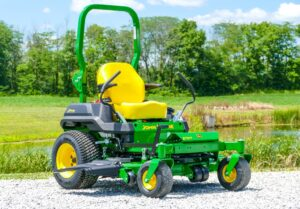 John Deere Z720E Zero-Turn Lawn Mower Review