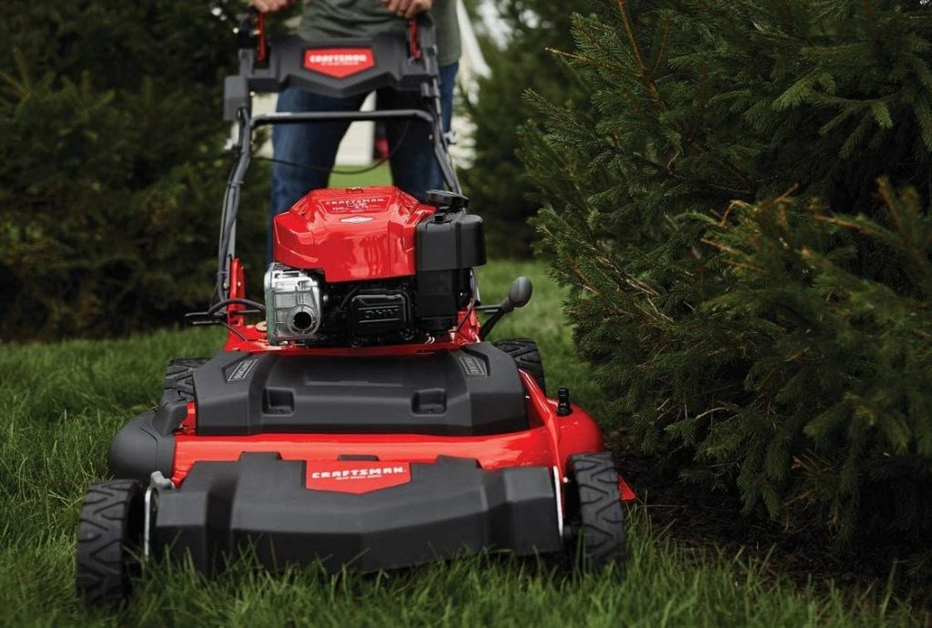 Craftsman M275 Gas Lawn Mower Review