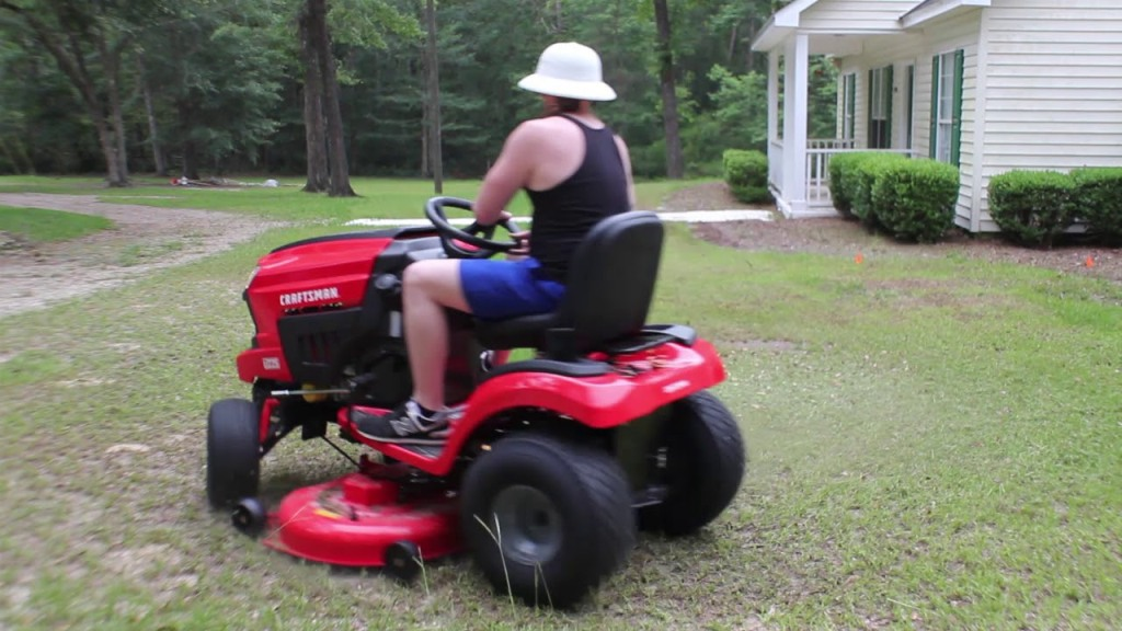 Craftsman T225 Riding Lawn Mower Review