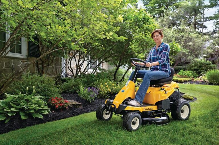 Cub Cadet CC30 H Riding Lawn Mower Review