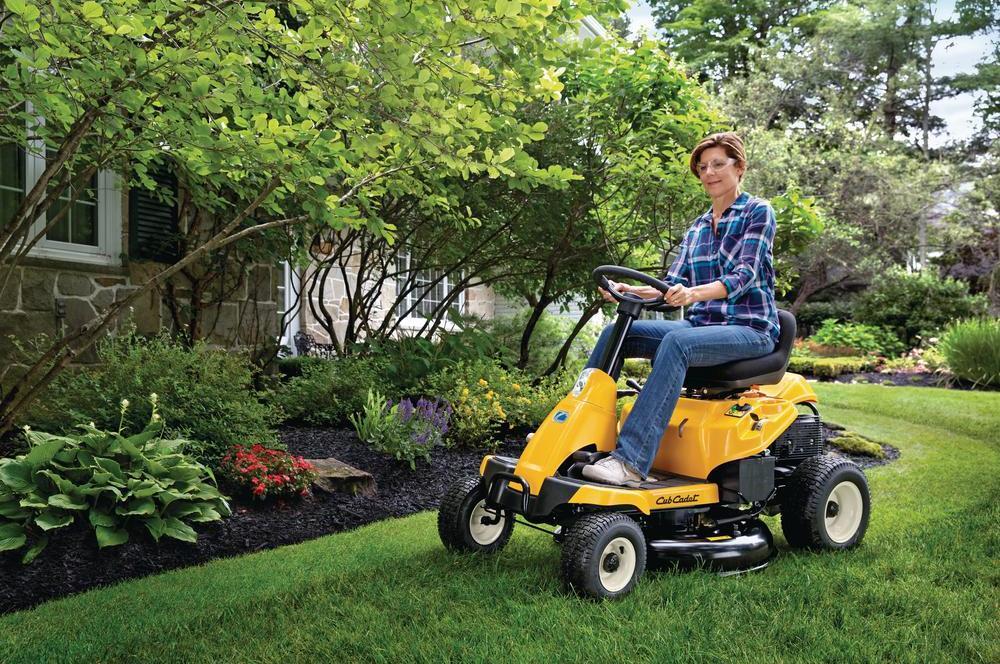 Cub Cadet CC30 H Riding Lawn Mower Review