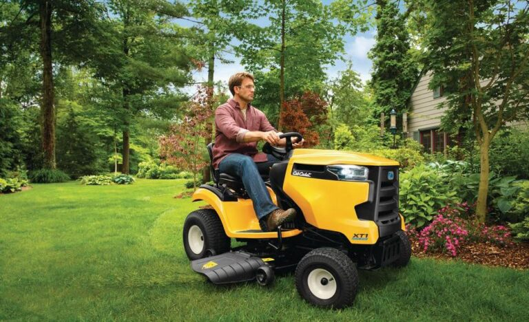 Cub Cadet XT1 LT42 EFI Riding Lawn Mower Review