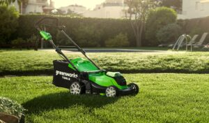 GreenWorks 2510802 Battery Lawn Mower Review