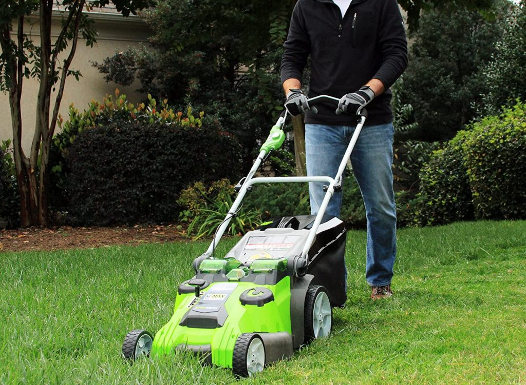 GreenWorks 25302 Battery Lawn Mower Review