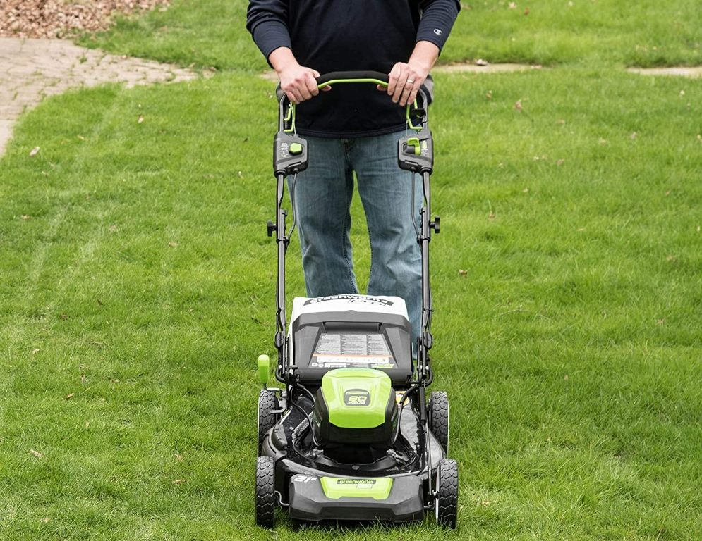 GreenWorks MO80L510 Battery Lawn Mower Review