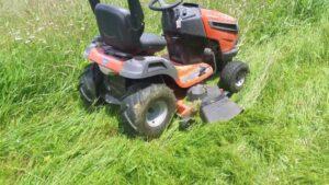 Husqvarna YTA24V48 Riding Lawn Mower Review