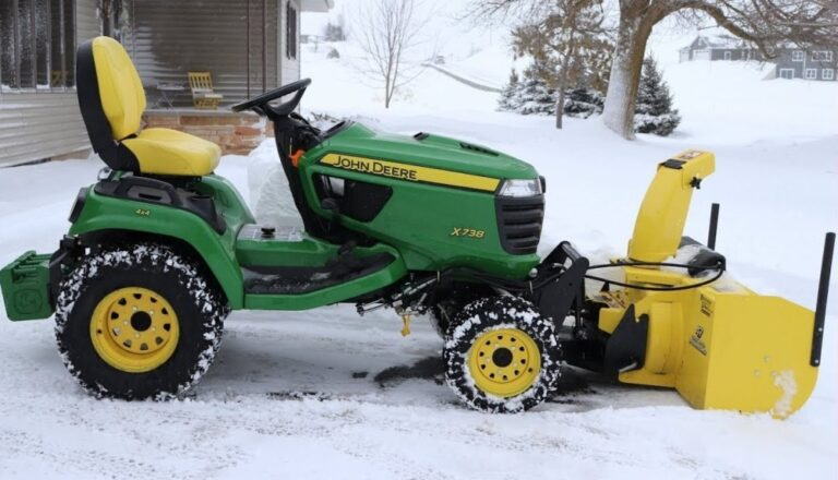 John Deere X738 Lawn Tractor Review