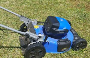 Kobalt (Lowe's) KMP 6080-06 Battery Lawn Mower Review