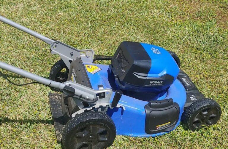 Kobalt (Lowe's) KMP 6080-06 Battery Lawn Mower Review