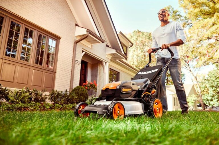 Worx WG751 Battery Lawn Mower Review