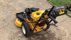 Cub Cadet CC800 Riding Lawn Mower Review