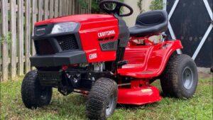 Craftsman T100 Riding Lawn Mower
